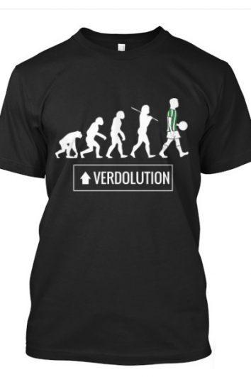 camiseta bética verdolution negro