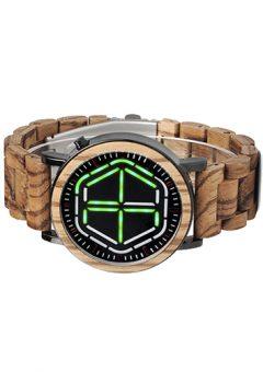 reloj futurista de madera 3