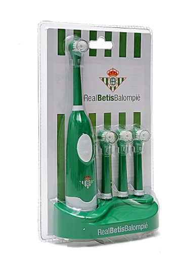 Pack de Cepillo eléctrico Real Betis